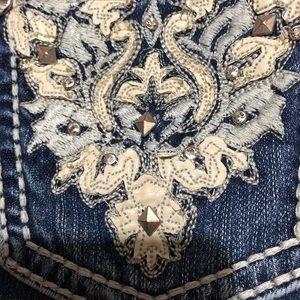 Reba studded jeans